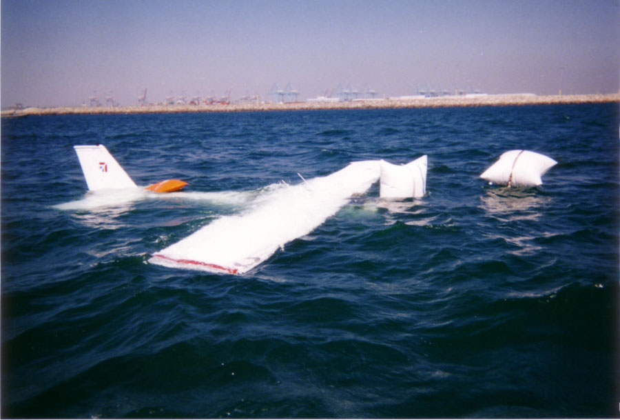 the gallery for gt airplane crashes in water