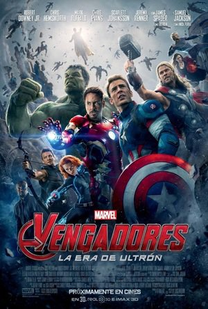 Poster Avengers: Age of Ultron 2015