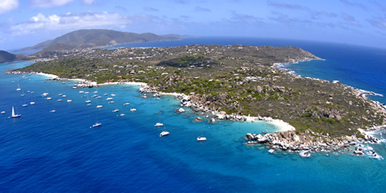 Enjoy sailing throughout the British Virgin Islands (BVI)