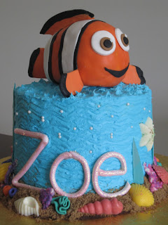 finding nemo cake with tutorial