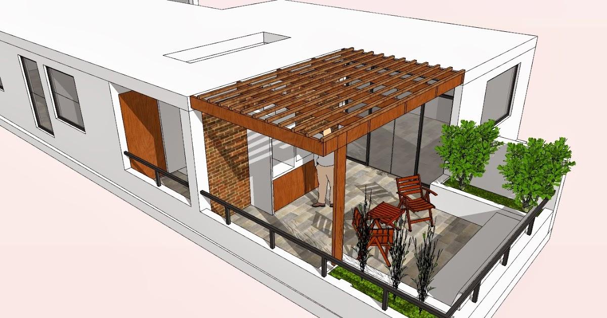 Cristian campos dise o previo dise o de terraza para for Disenos para departamentos