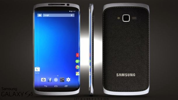 Samsung Galaxy S5 rendered concept