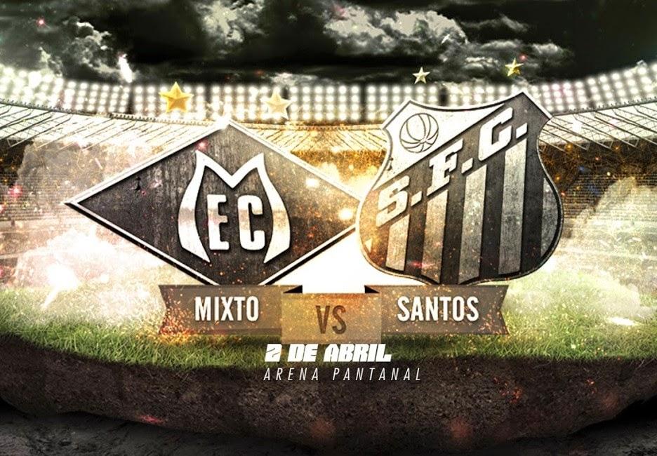 Santos x Mixto/MT