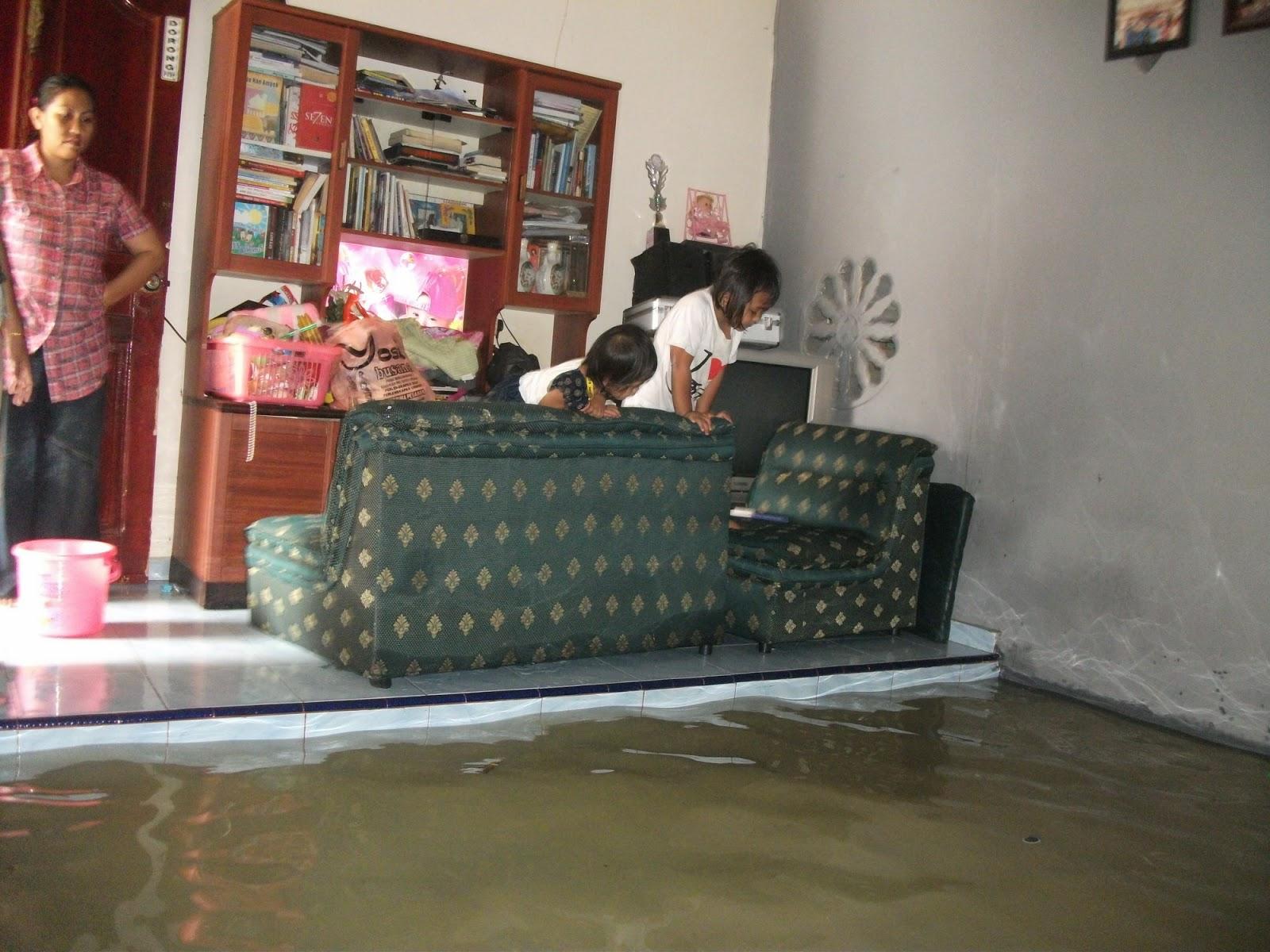 perumahan pinang hijau kota tanjungpinang banjir