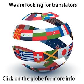 We zijn op zoek naar vertalers