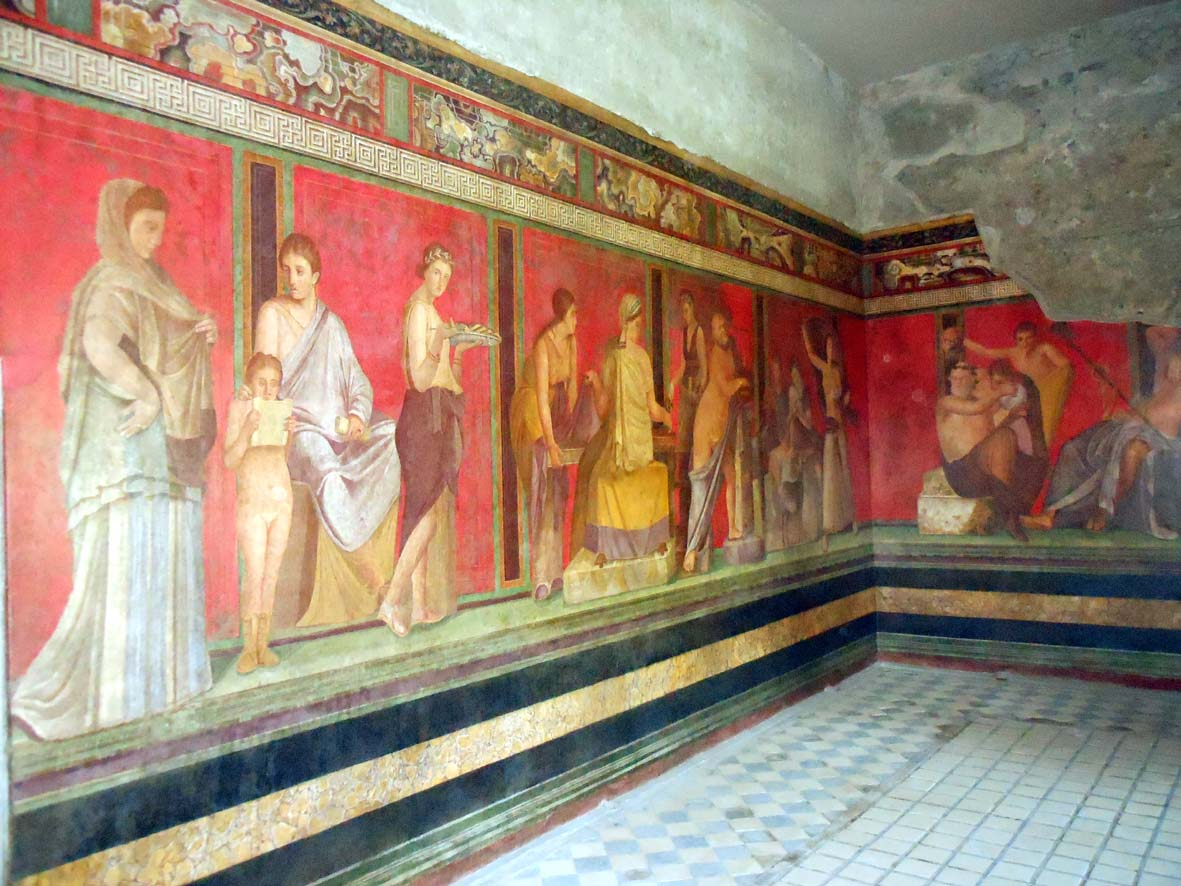 alas de papel pompeya un viaje por el tiempo On la casa de los mosaikos