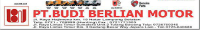 Lowongan Accounting PT Budi Berlian Motor Lampung
