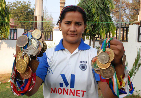 Kavita Chahal (Boxing) - Arjuna Award