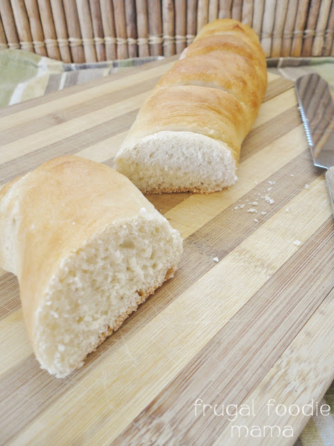 baguette recipe bread machine