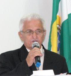 Escritor e historiador João Batista Lopes, segundo presidente da Academia de Letras de Cacoal