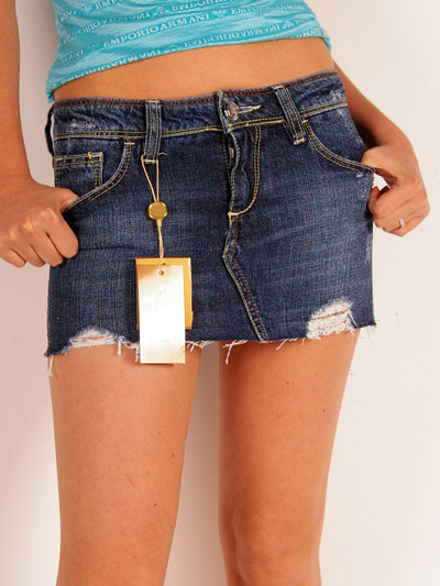 Barbietch Jeans Mini Skirt