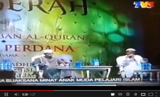 video ustaz azhar idrus di tv3