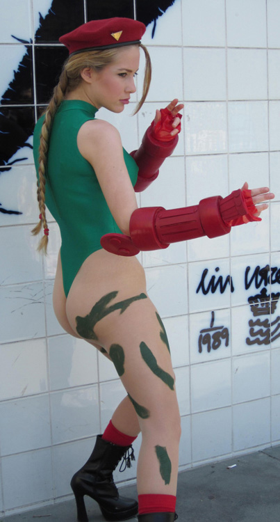 Consider, Street fighter cammy cosplay ass very
