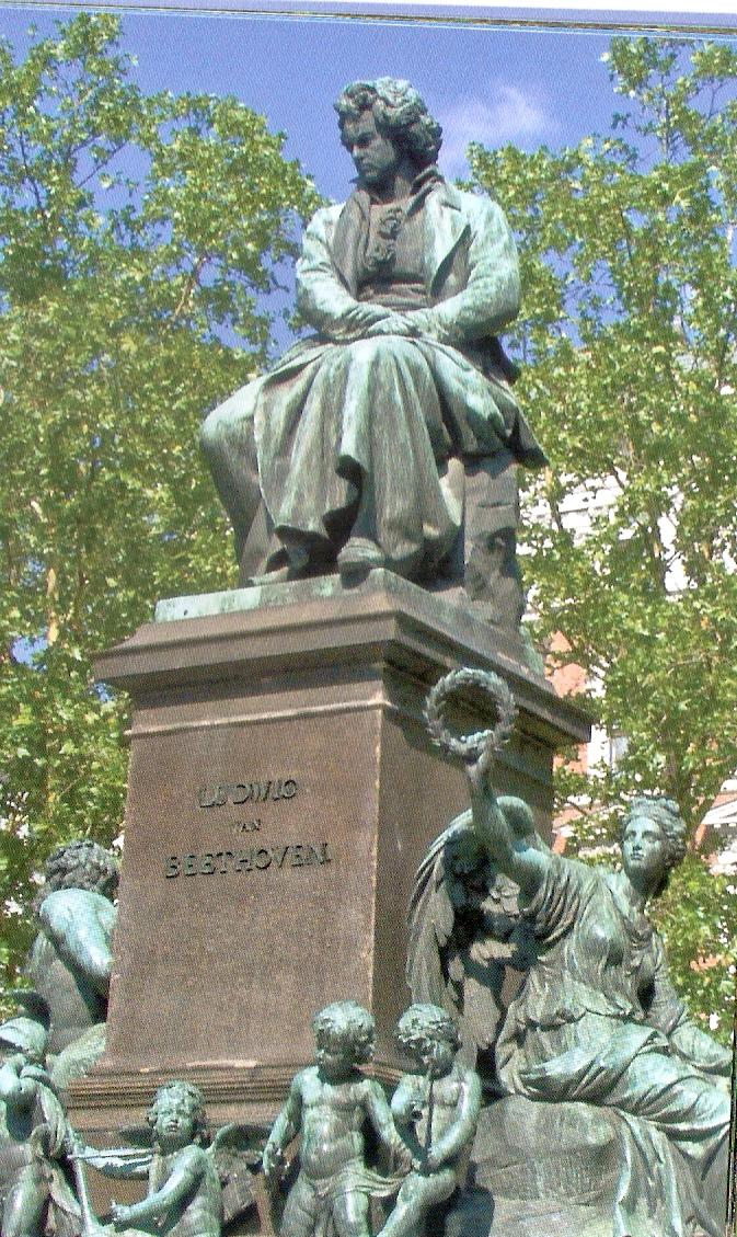 Beethoven Memorial,Vienna