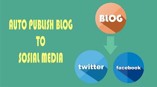Cara Membuat Auto Publish Dari Blog ke Facebook