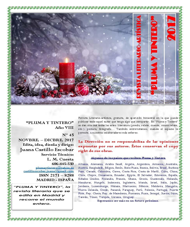 Revista Nº 45 - Noviembre-Diciembre 2017
