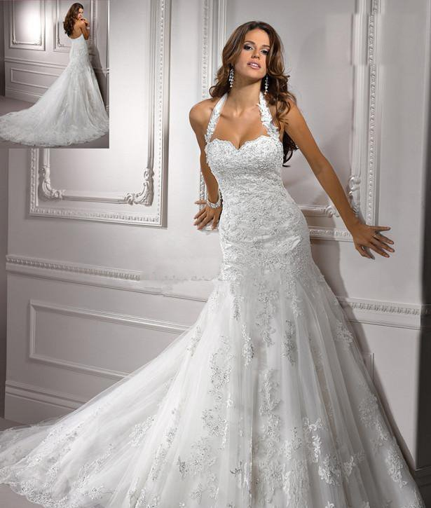 Wedding Dresses With Semi Cathedral Trains 58