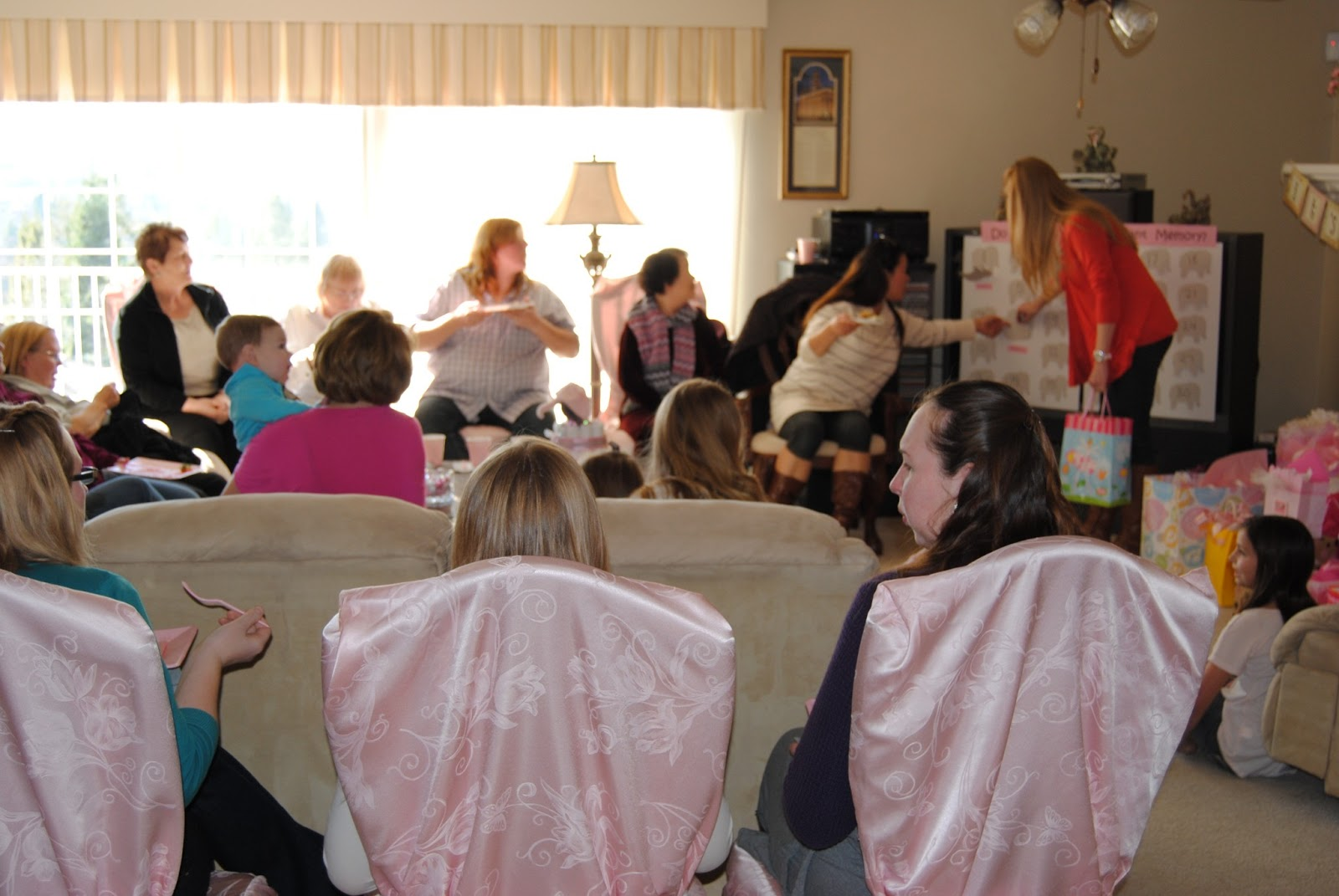 to the mad house do you have an elephant memory baby shower game
