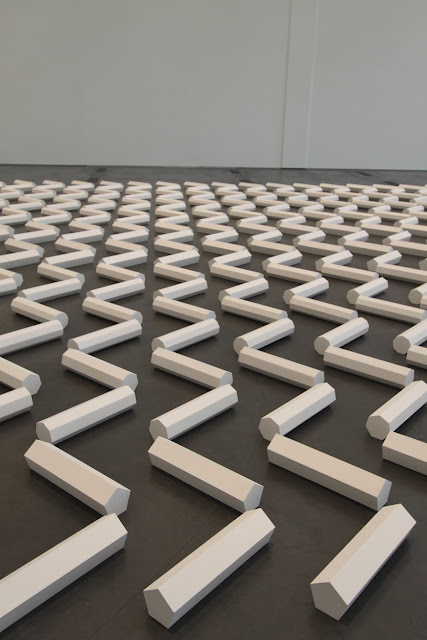 The 2000 Sculpture, byWalter De Maria, LACMA Los Angeles County Museum of Art