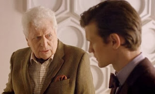 Fourth Doctor Tom Baker makes a surprise appearance in Doctor Who: Day of the Doctor