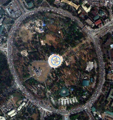 My spare time with google map colors and grays quezon memorial circle malvernweather Images