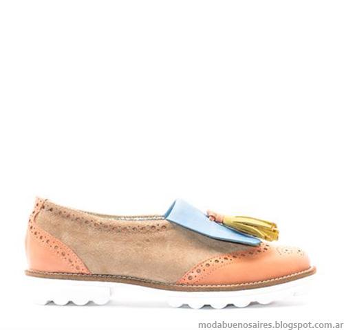 Zapatos casual 2015. Zapatos de moda verano 2015 colección Anjou.