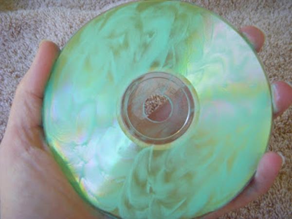 Repair the damaged disc