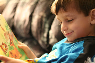 William 2 yo, reading his favourite book: Bambi :: All Pretty Things