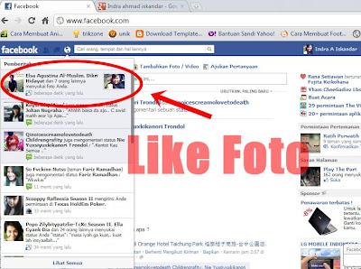 Fitur Baru Pemberitahuan Like Foto di Facebook