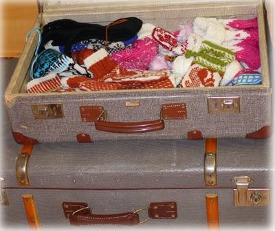 Koffert med nye modeller