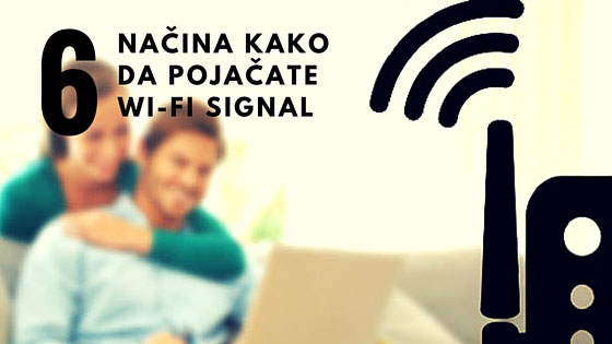 Pojacajte wireless signal