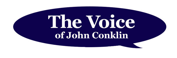 The voice of John Conklin