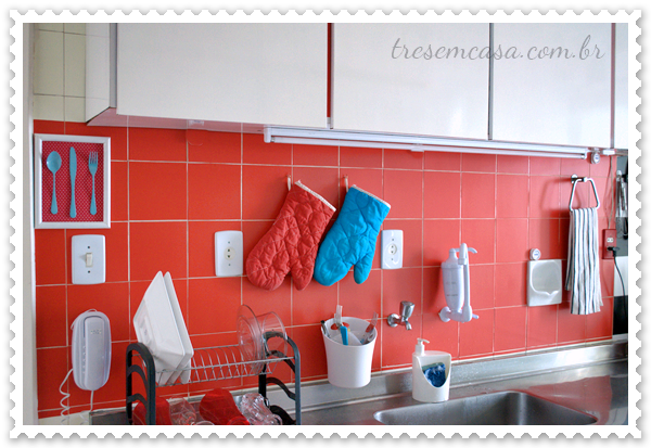 como mudar os azulejos da cozinha