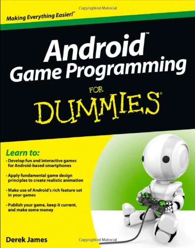 Android Game Programming For Dummies,android,learn android,android games,develop android games,android game programing,
