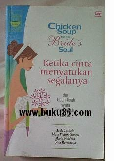 Novel Chicken Soup For The Bride's Soul Bekas