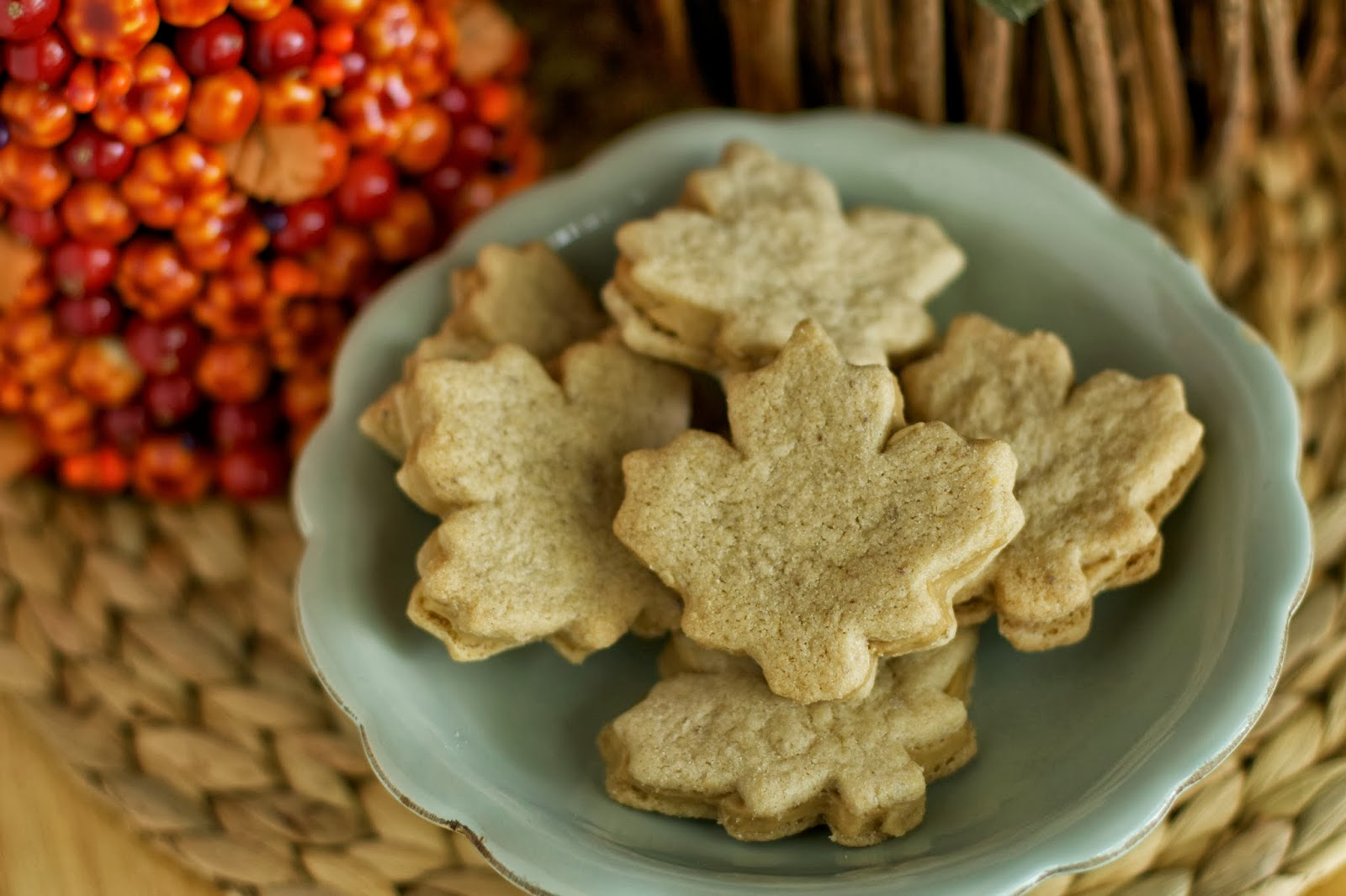Maple Leaf Cream Cookies ~ Hopes Kitchen