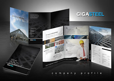 New Gigasteel Company Profile Design