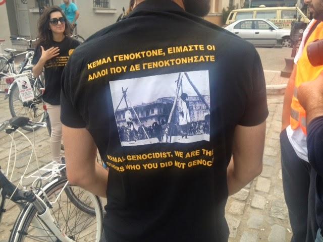 Ποδηλατοπορεία στο κέντρο της Θεσσαλονίκης στη μνήμη της Γενοκτονίας των Ποντίων (ΦΩΤΟ και VIDEO)