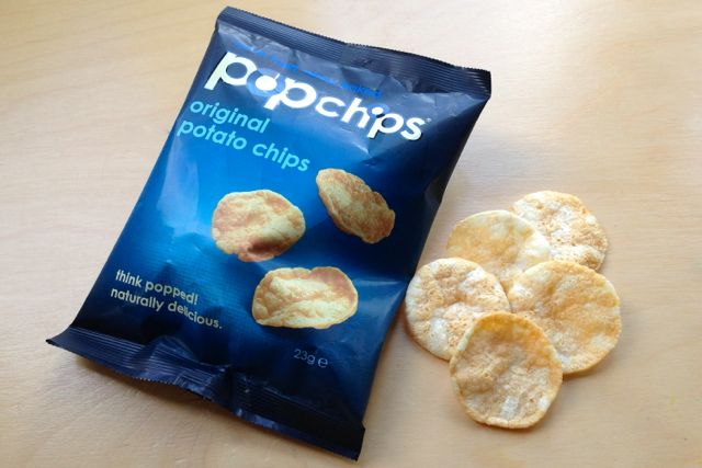 Original Popchips air-popped crisps are vegan