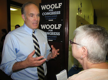 Woolf Holds Watertown News Conference to Rap Stefanik