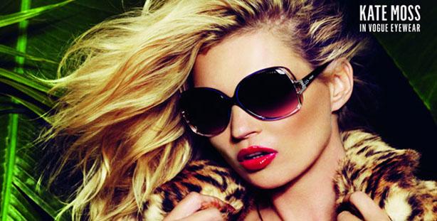 Celebrities Spy: Kate Moss Vogue Eyewear Ad Campaign- 13 Pics