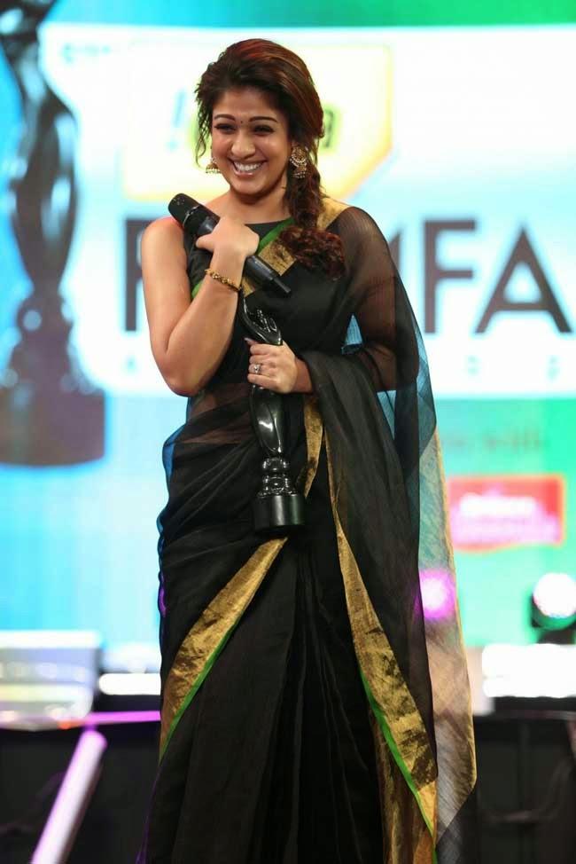 Nayantara at 61st Idea Filmfare Awards 2013 (South)