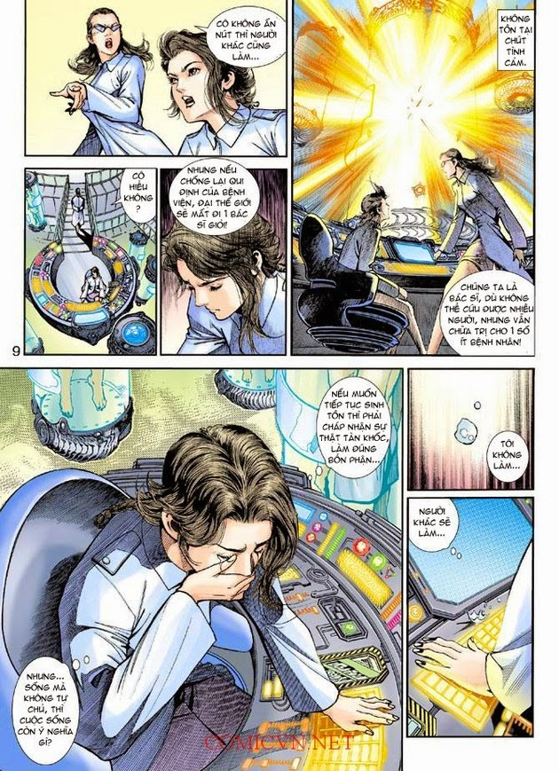 Thần Binh Khoa Huyễn Ký chap 2 - Trang 9