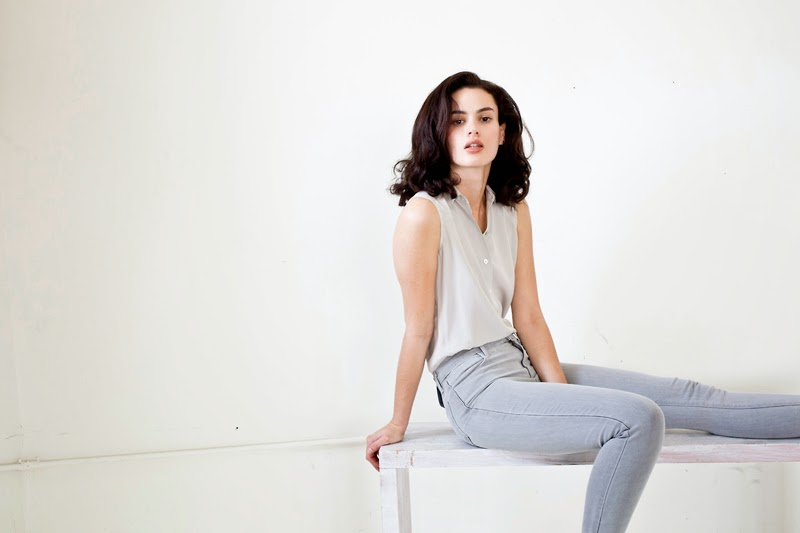 The Spring Silk lookbook by Everlane