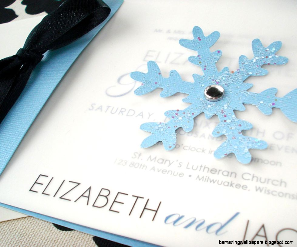 Cool Winter Wonderland Wedding Invitations 20 For Your Inspiration