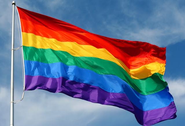 La bandiera arcobaleno al Moma