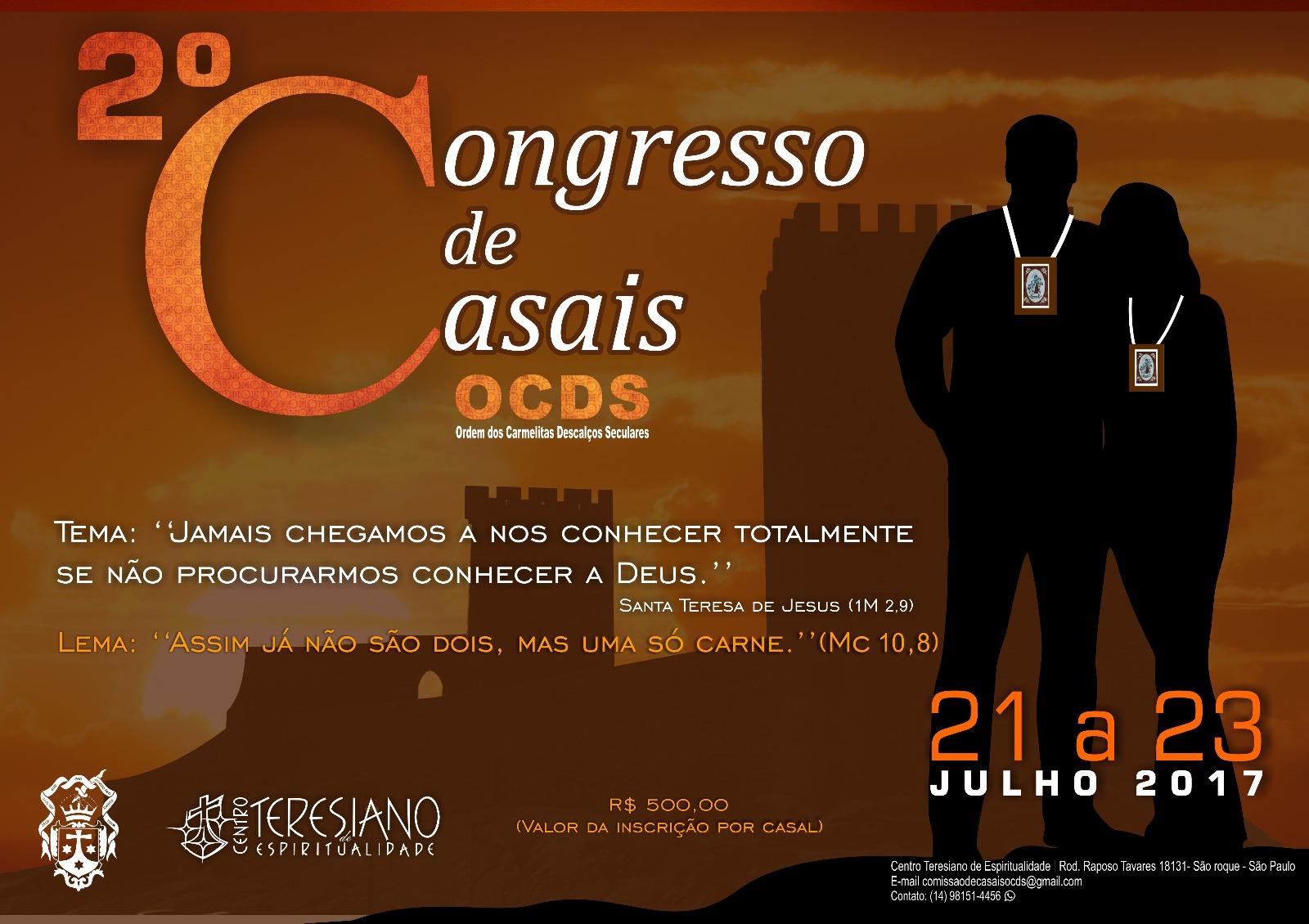 2º Congresso de Casais OCDS - 2017