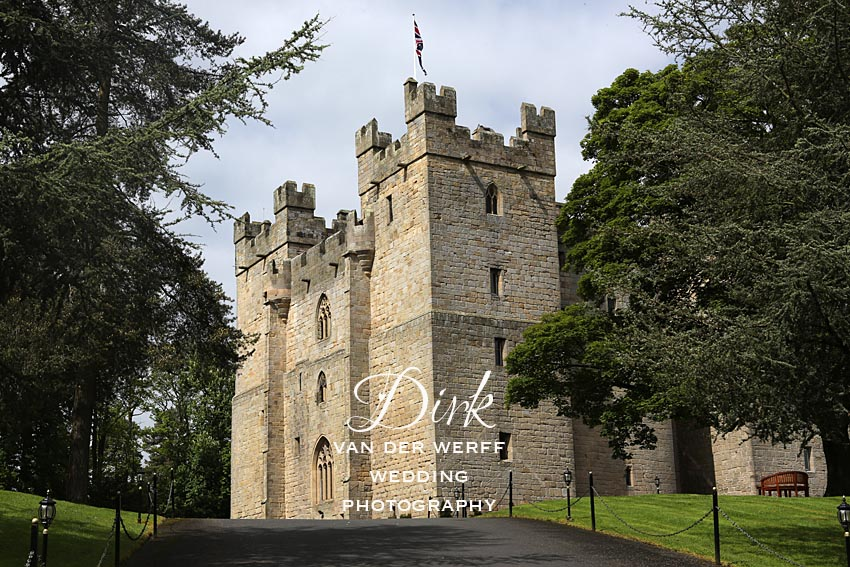 Hexham and Langley Castle wedding photographers