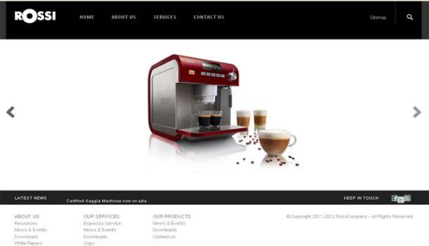 Download slideshow and feature portfolio joomla template free