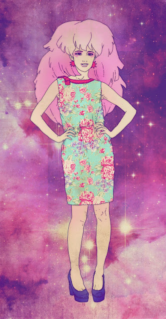 flower dress fashion idea